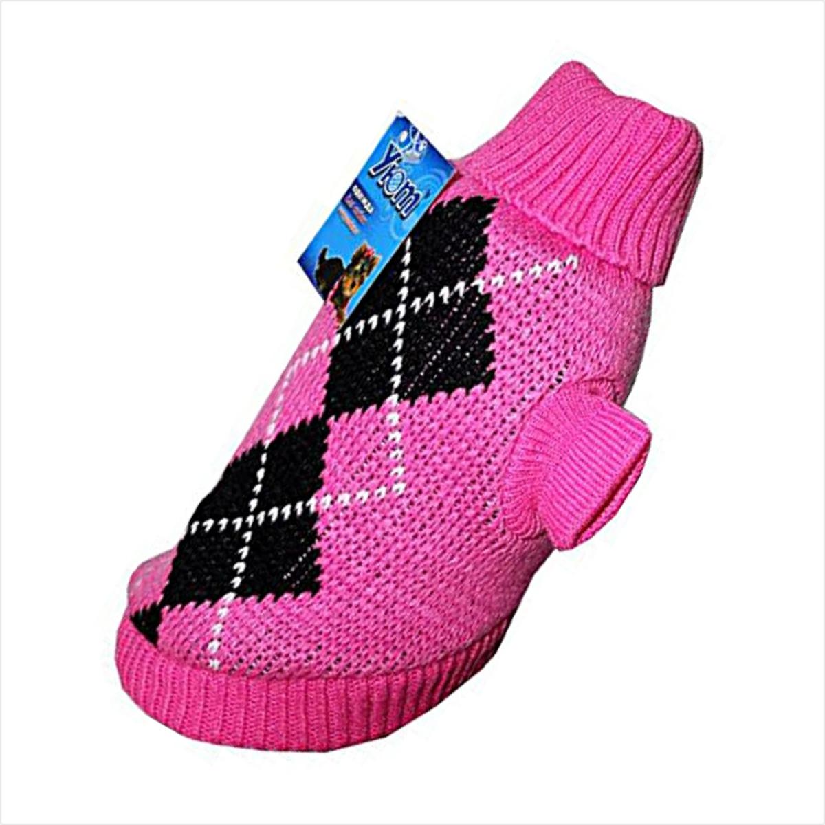 """Свитер для собак """"Уют"""", для девочки, цвет: розовый. НМ11Л. Размер L"""