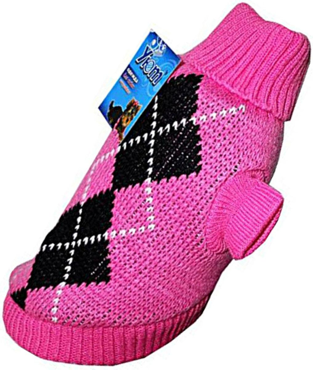 """Свитер для собак """"Уют"""", для девочки, цвет: розовый. НМ11С. Размер S"""