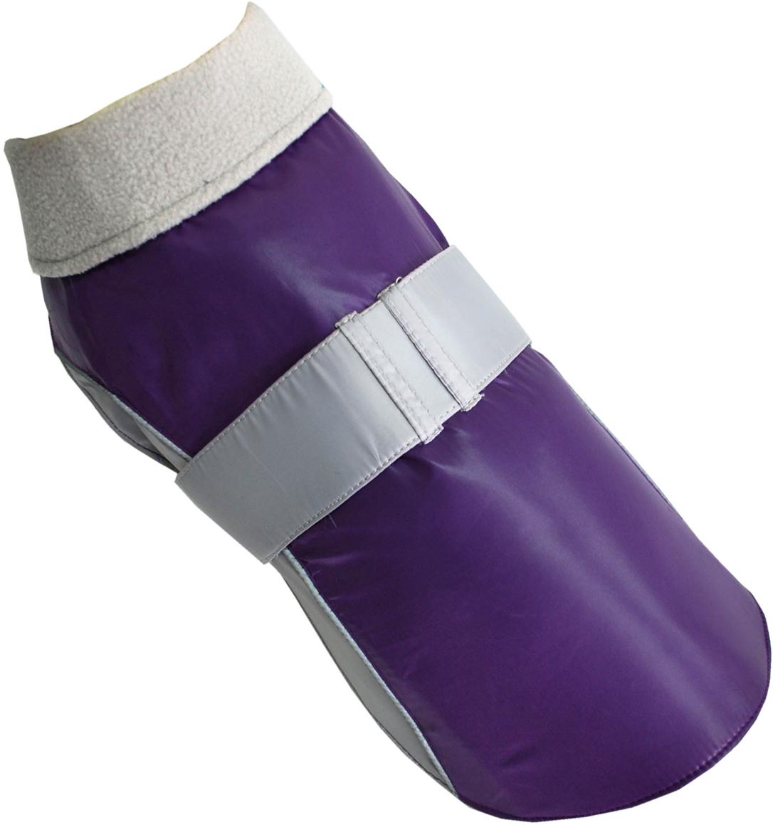 """Попона для собак """"Pet's INN"""", унисекс, цвет: фиолетовый. Пет28С. Размер S"""