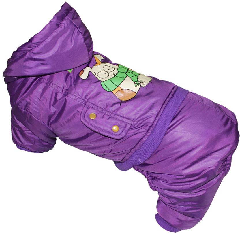 """Комбинезон для собак Pet's INN """"BULCIN"""", цвет: фиолетовый. Петс06ХЛ. Размер XL"""