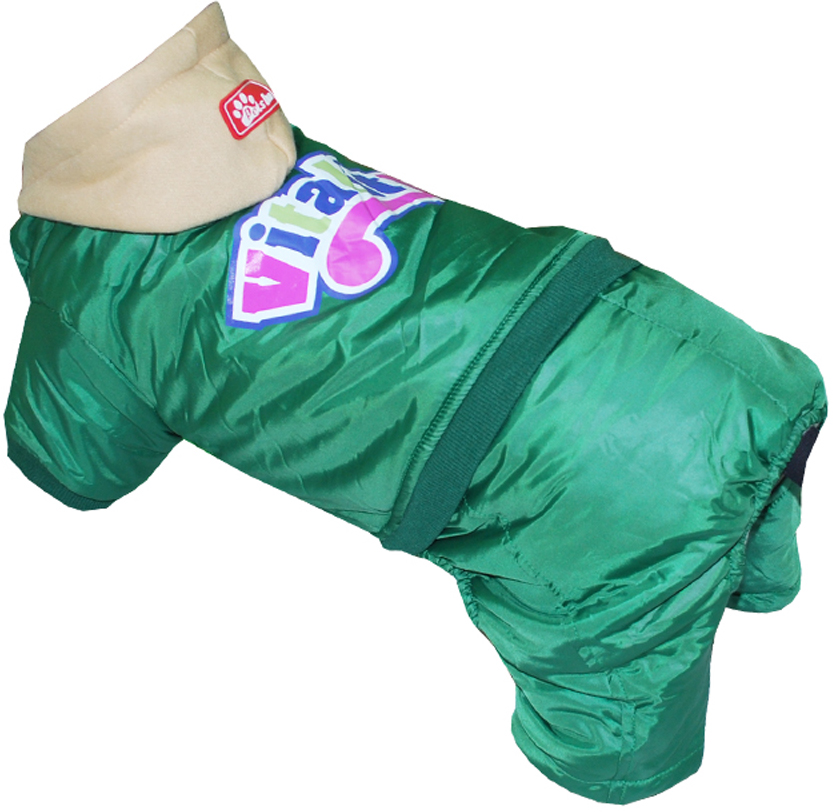 "Комбинезон для собак Pet's INN ""VITALITY"", цвет: зеленый. Петс13ХЛ. Размер XL"