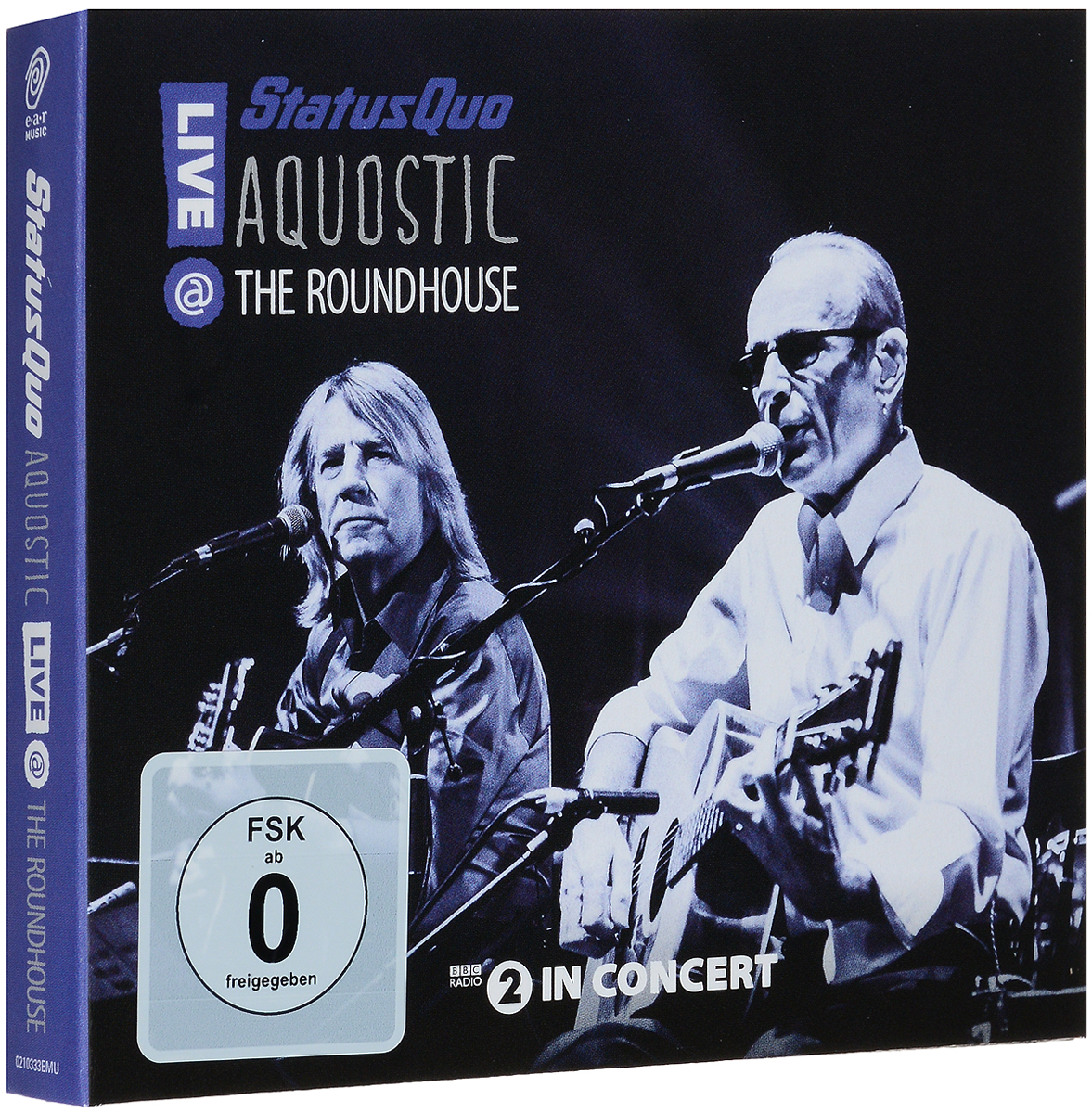 Status Quo Quo. Aquostic! Live At The Roundhouse (2 CD + DVD)