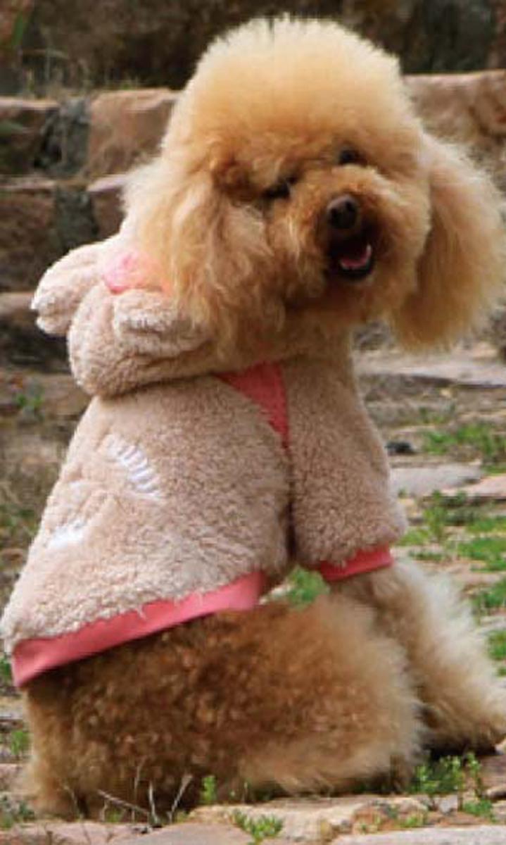 "Куртка для собак ""Dobaz"", цвет: темно-бежевый. ДА13053АЛ. Размер L"