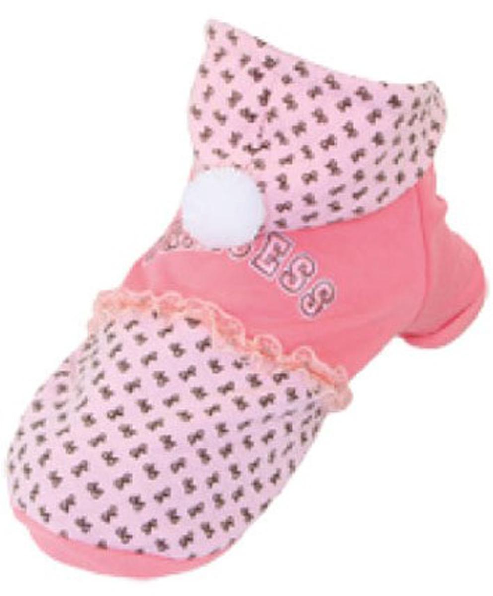 "Куртка для собак ""Dobaz"", цвет: розовый. ДА13056АМ. Размер M"