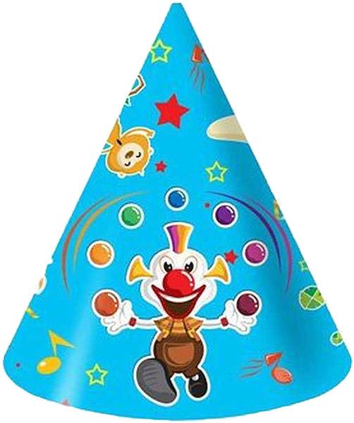 Miland Колпак карнавальный детский Веселый цирк 6 шт