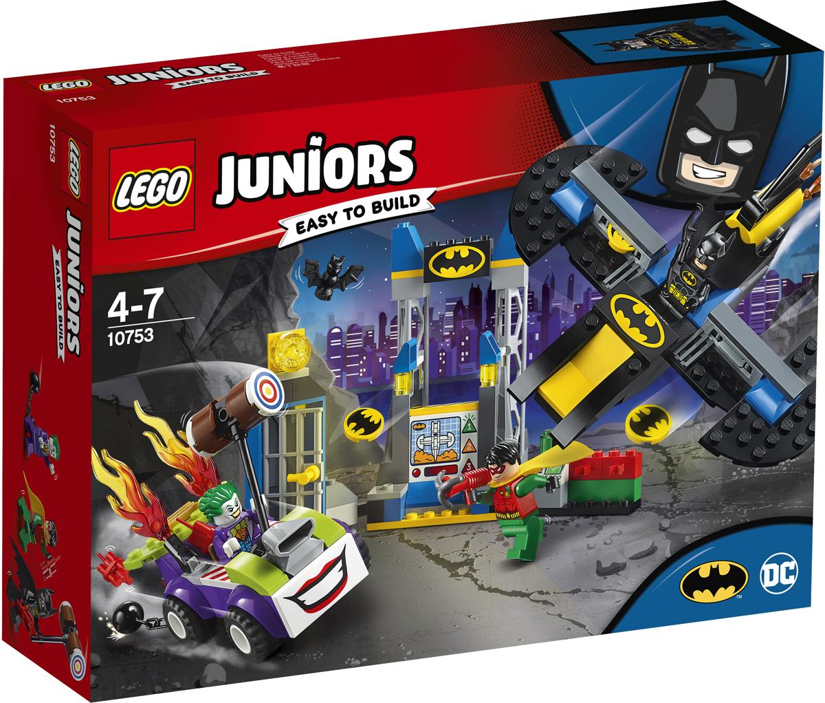 LEGO Juniors 10753 Нападение Джокера на Бэтпещеру Конструктор