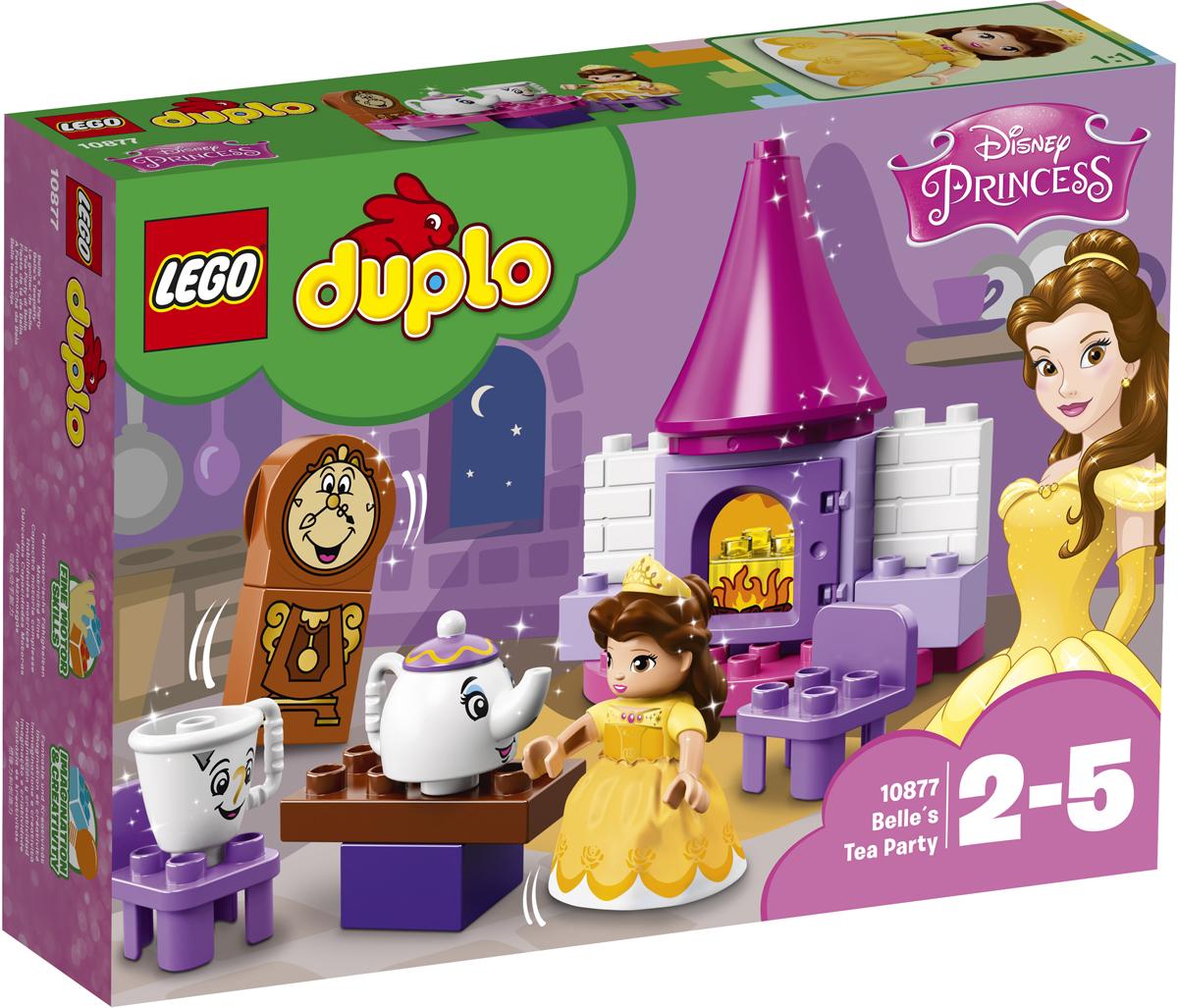 Фото - LEGO DUPLO Princess 10877 Чаепитие у Белль Конструктор lego duplo disney катер микки 10881