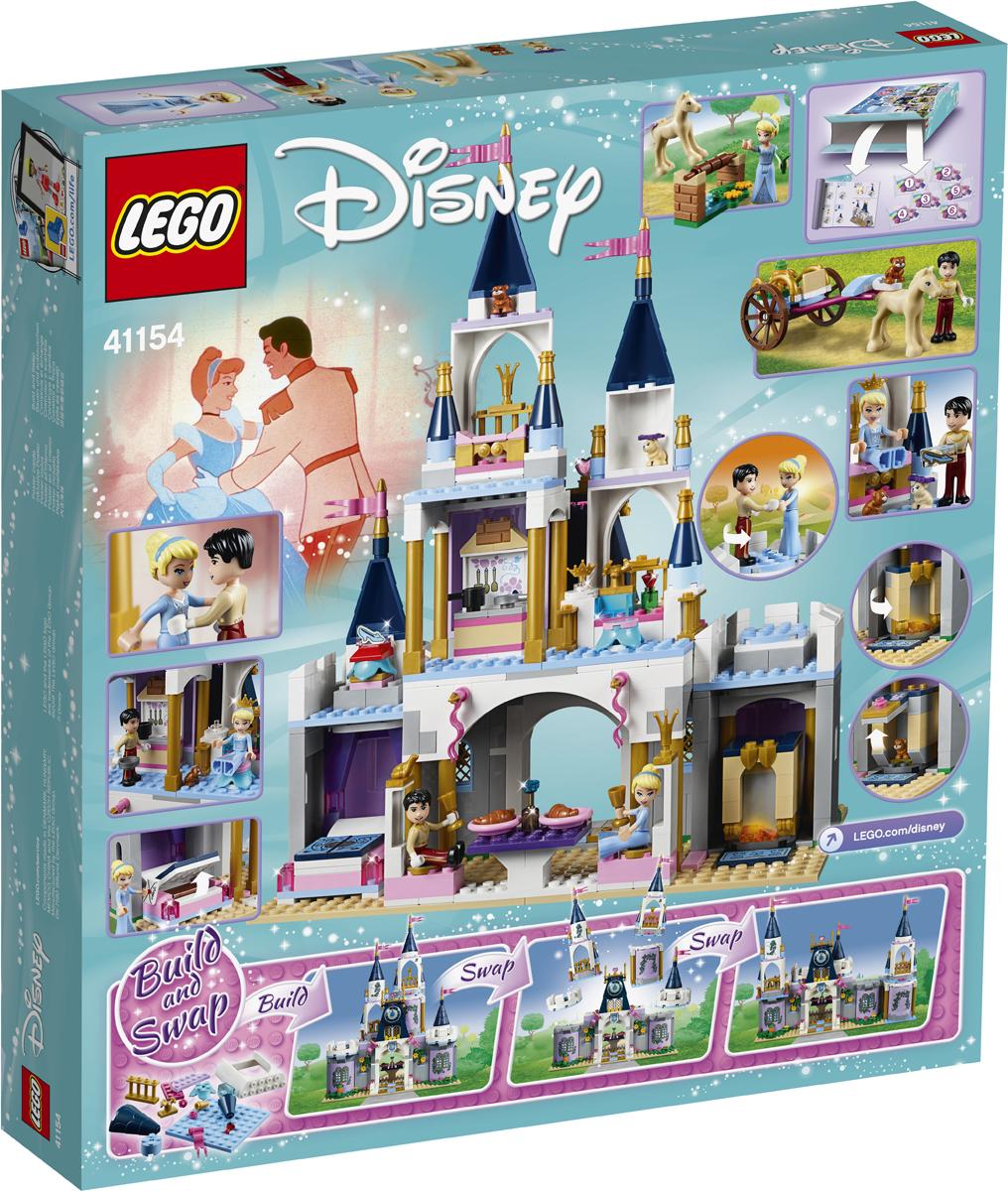 LEGO Disney Princess 41154 Волшебный замок Золушки Конструктор конструктор lego disney princess волшебный замок золушки 41154