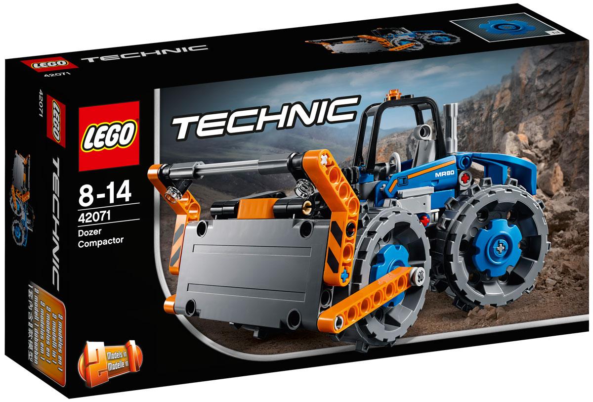 LEGO Technic 42071 Бульдозер Конструктор lego lego technic бульдозер