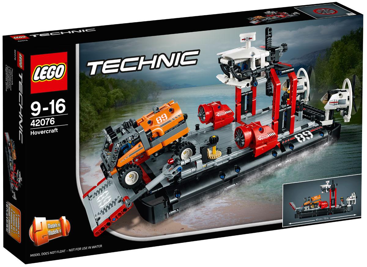 Фото - LEGO Technic 42076 Корабль на воздушной подушке Конструктор lego technic 42076 конструктор лего техник корабль на воздушной подушке