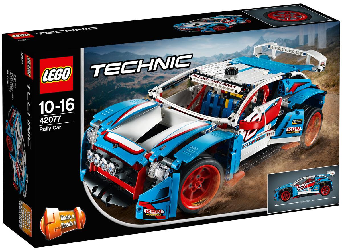 LEGO Technic 42077 Гоночный автомобиль Конструктор