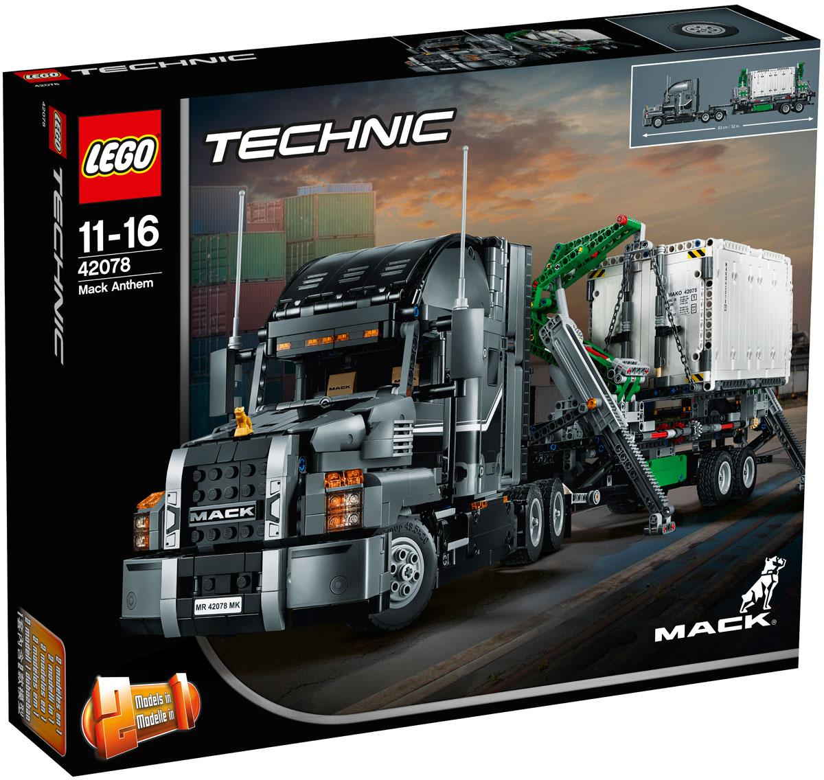 LEGO Technic 42078 Грузовик MACK Конструктор