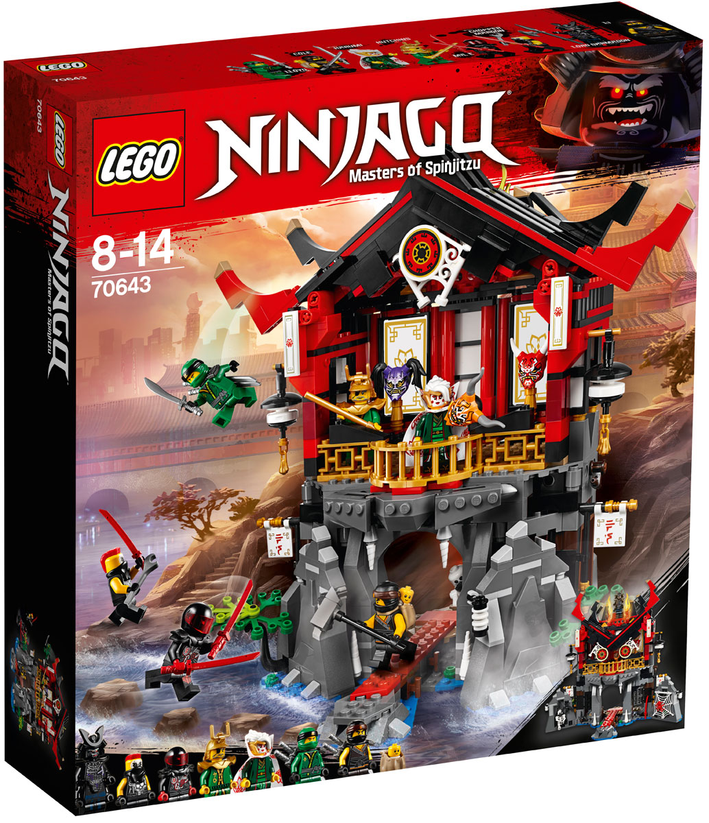 цена на LEGO NINJAGO 70643 Храм воскресения Конструктор