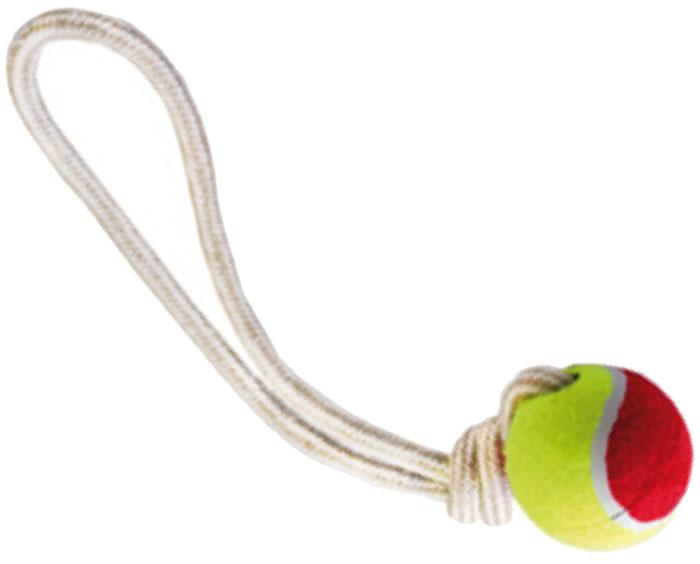 Грейфер для собак №1, с мячом, 35 см грейфер для собак 1 2 узла с мячом 35 см