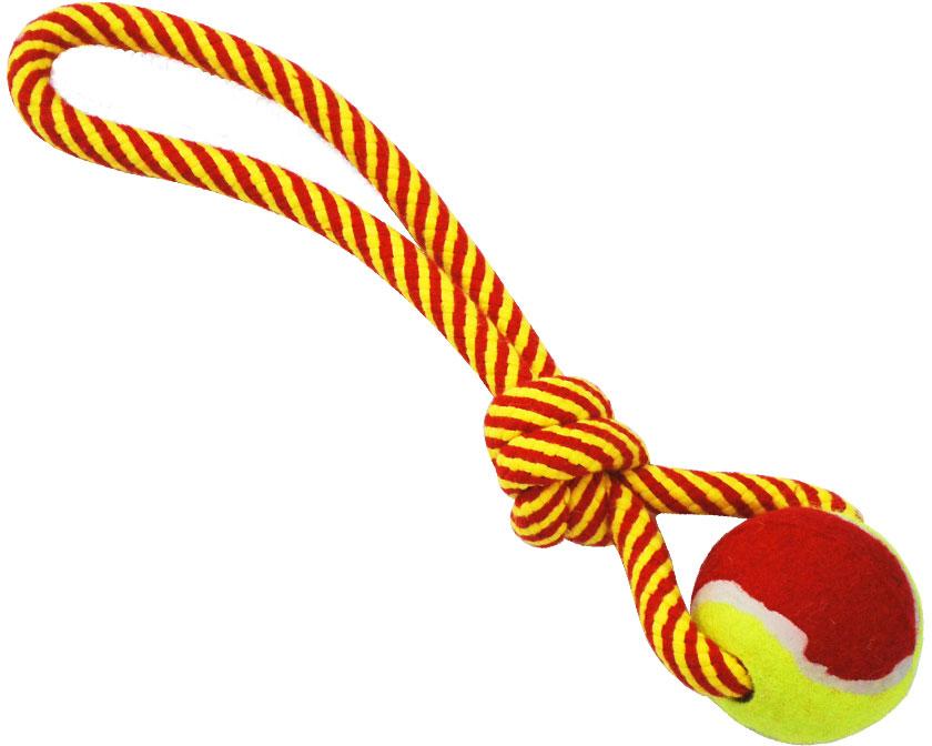 Грейфер для собак №1, с мячом и ручкой, 32 см