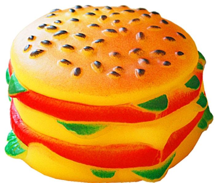 Игрушка для собак Уют Гамбургер, 9 x 5 см игрушка для собак уют кеды цвет салатовый 10 x 5 x 4 см