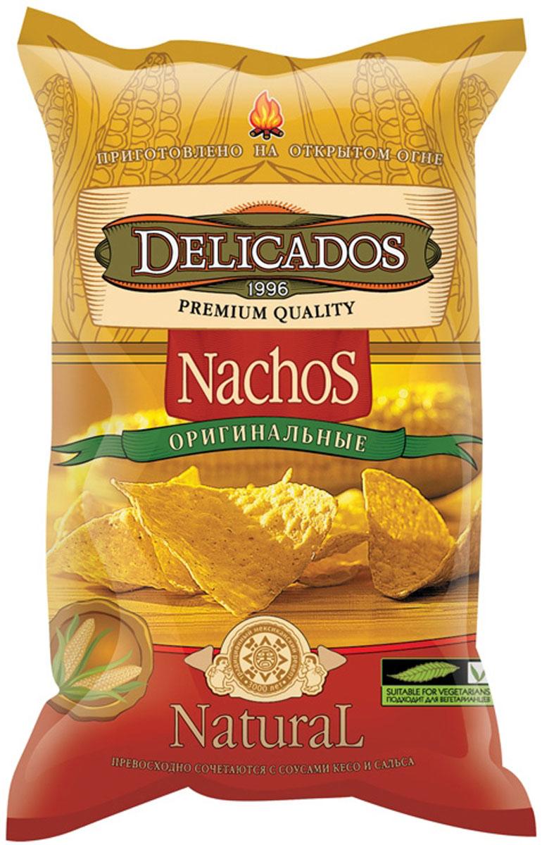 Чипсы кукурузные Delicados Nachos, оригинальные, 75 г чипсы кукурузные delicados nachos оригинальные 75 г