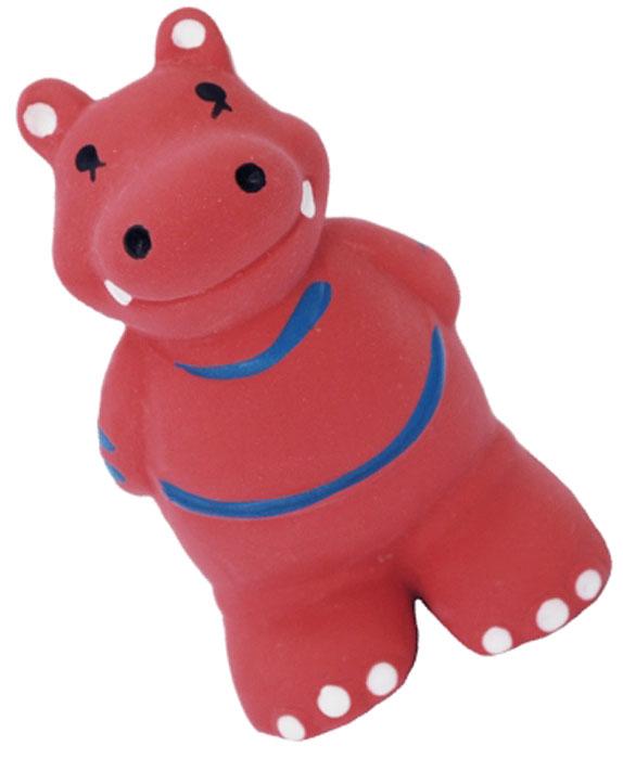 Игрушка для собак №1 Бегемотик, с пищалкой, 9 см игрушка для собак 1 утенок с пищалкой 5 см