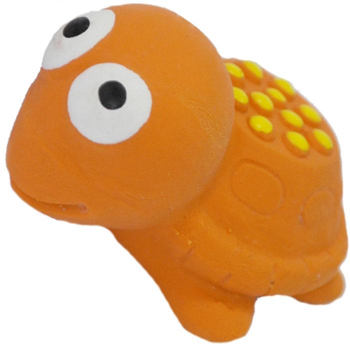 Игрушка для собак №1 Черепашка, с пищалкой, 5,5 см музыкальная игрушка в виде черепашки с кубиками черепашка умняшка с кубиками
