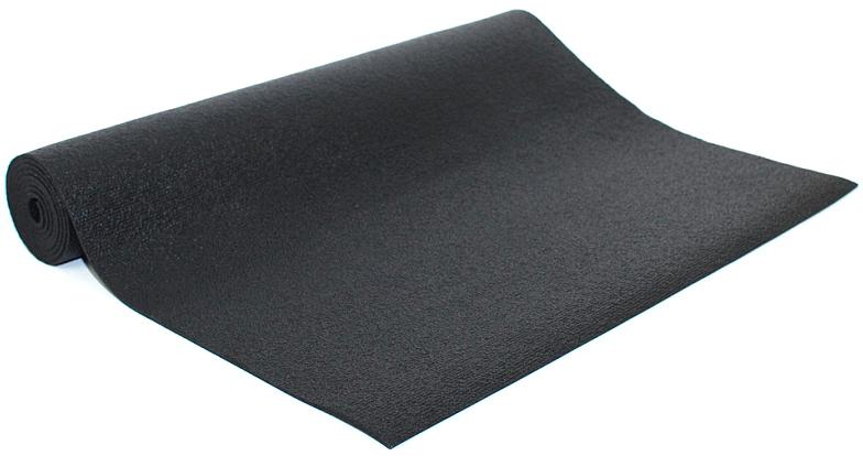 """Коврик для йоги и фитнеса Bodhi """"Rishikesh 60"""", цвет: черный, 60 х 0,45 х 175 см"""