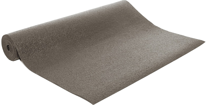 Коврик для йоги и фитнеса Bodhi Rishikesh 80, цвет: серый, 80 х 0,45 х 200 см коврик для йоги и фитнеса profi fit 6 мм стандарт серый
