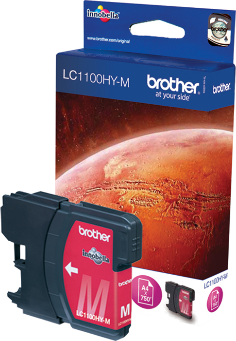 Brother LC1100HYM, Magenta картридж для Brother DCP-6690CW brother artwork 22