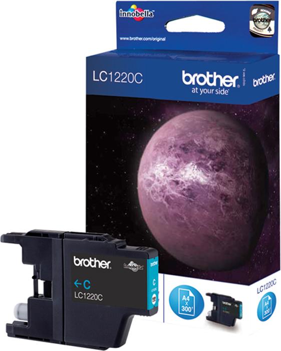 Brother LC1220C, Cyan картридж для Brother DCP-J525W/MFC-J430W/MFC-J825DW main board for brother mfc 7840n mfc 7840 mfc 7840 7840n formatter board mainboard