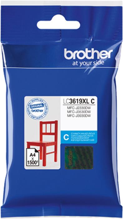 Brother LC3619XLC, Cyan картридж для Brother MFC-J3530DW/J3930DW картридж brother lc3619xlc голубой cyan 1500стр для brother mfc j3530dw j3930dw