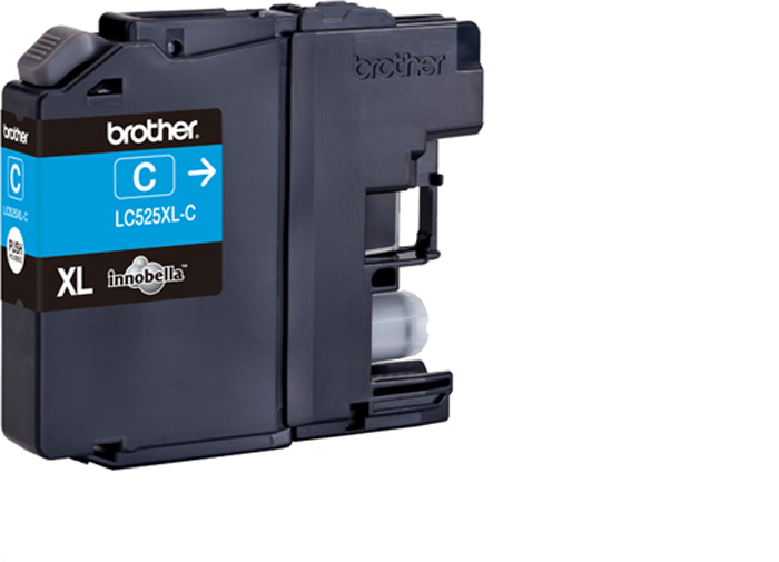 Brother LC525XLC, Cyan картридж для Brother DCP-J100, DCP-J105, MFC-J200 free shipping original printhead compatible for brother dcp j100 j105 j200 printer head print head