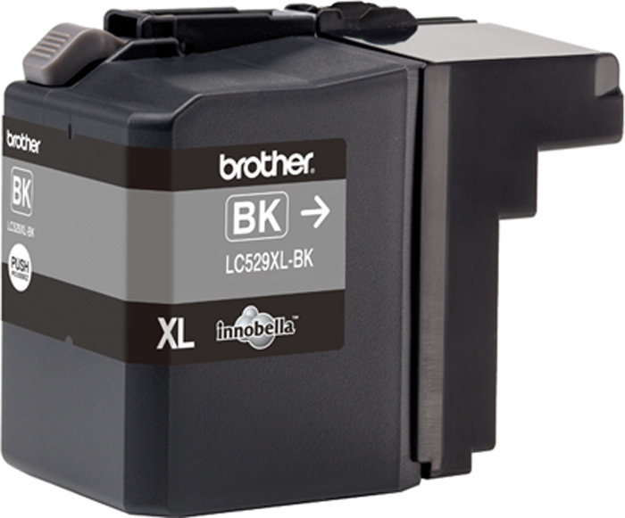 Brother LC529XLBK, Black картридж для Brother DCP-J100, DCP-J105, MFC-J200 free shipping original printhead compatible for brother dcp j100 j105 j200 printer head print head