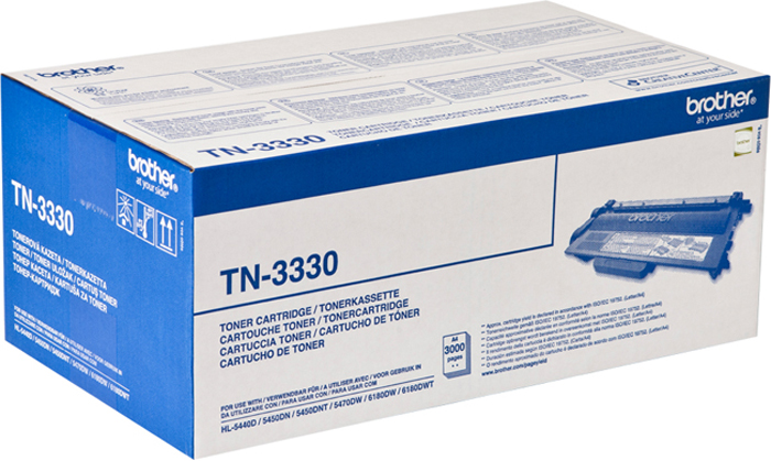 Картридж Brother TN3330, черный, для лазерного принтера free shipping for brother dr720 dr3355 toner cartridge for brother hl 5440d 5445d 5450dn 5470dn 5470dwt laser printer