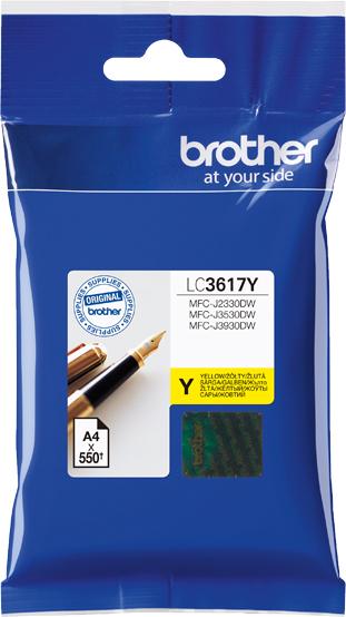 все цены на Brother LC3617Y, Yellow картридж для Brother MFC-J3530DW/J3930DW онлайн