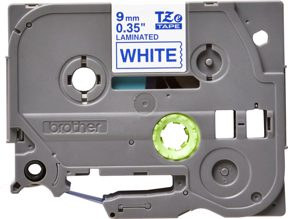 Brother TZE223, White Blue лента для матричного принтера 9 мм