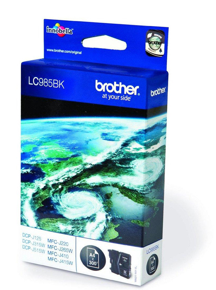 Brother LC985BK, Black картридж для Brother DCP-J315W/DCP-J515W/MFC-J265W brother artwork 22