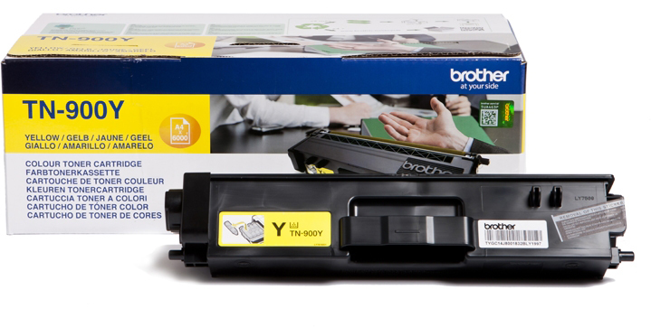 Brother TN900Y, Yelllow тонер-картридж для Brother HL-L9200CDWT MFC-L9550CDWT картридж brother tn900bk для hl l9200cdwt mfc l9550cdwt черный 6000стр