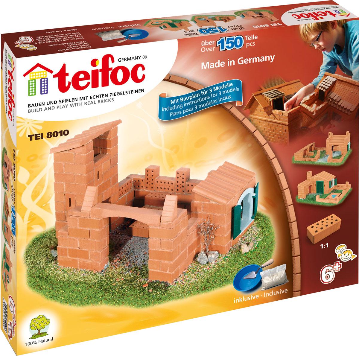 все цены на Teifoc Строительный набор Дом TEI 8010 онлайн