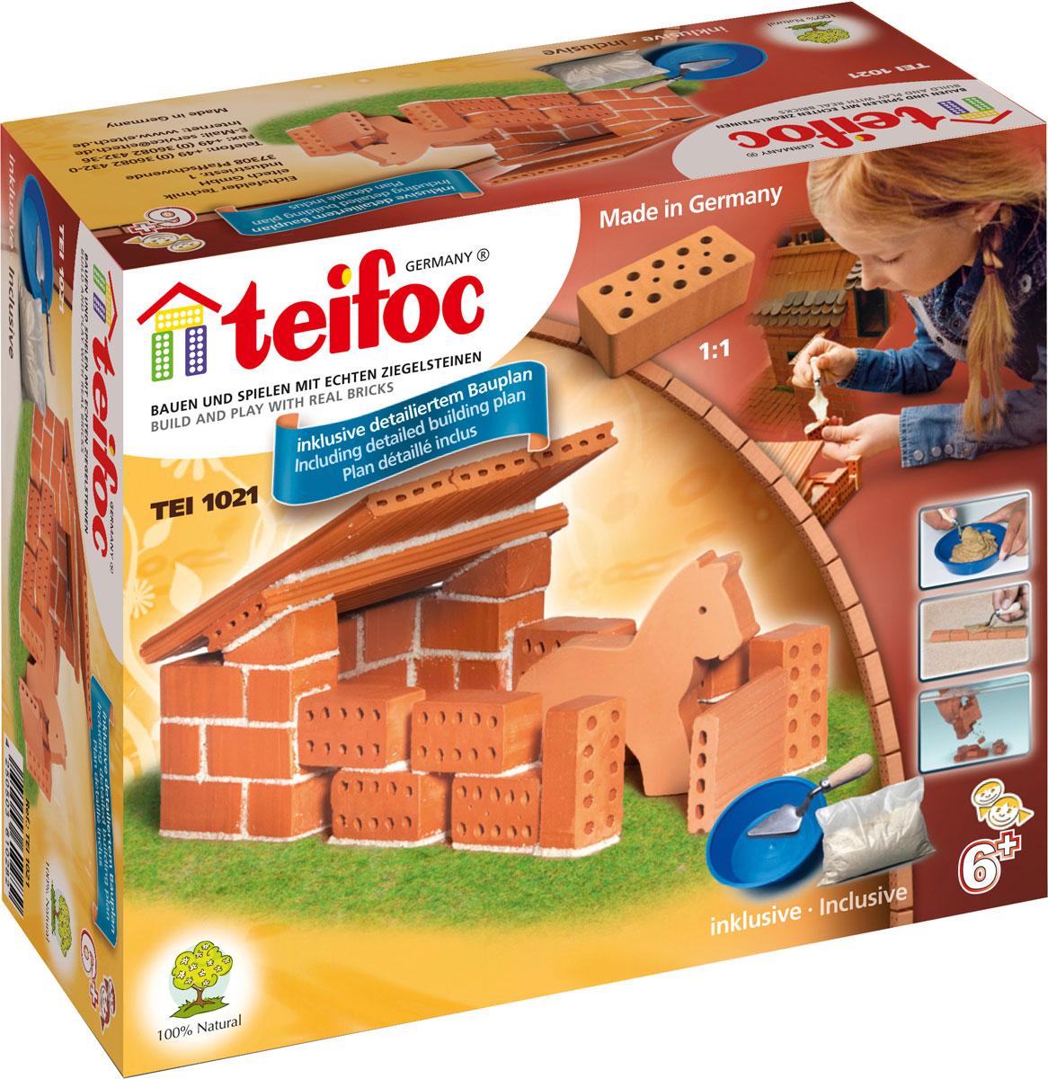 купить Teifoc Строительный набор Конюшня по цене 640 рублей