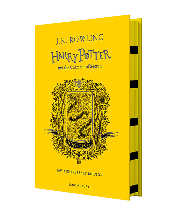 Harry Potter and the Chamber of Secrets – Hufflepuff Edition rowling j harry potter and the chamber of secrets hufflepuff