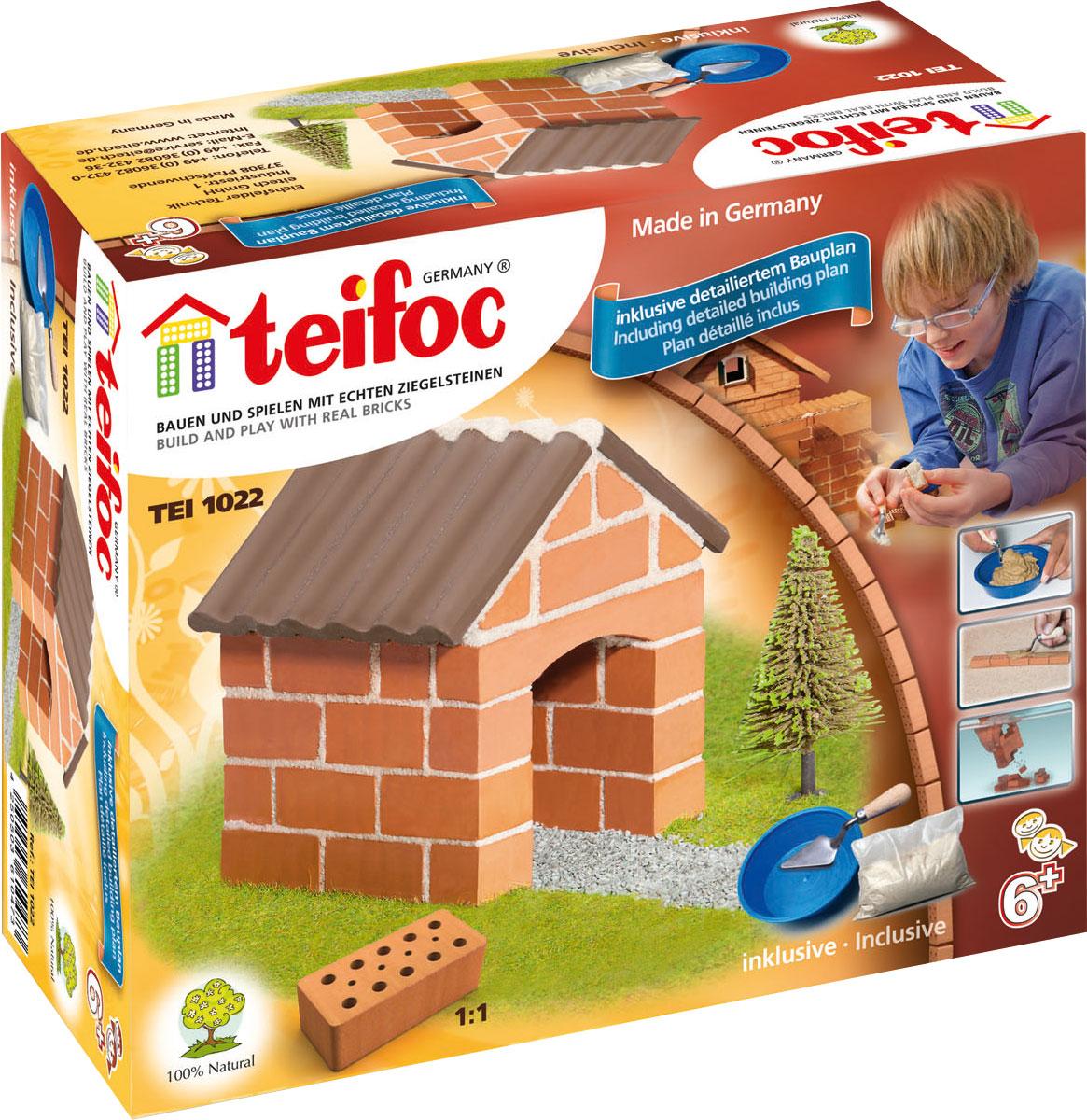 купить Teifoc Строительный набор Коттедж по цене 833 рублей