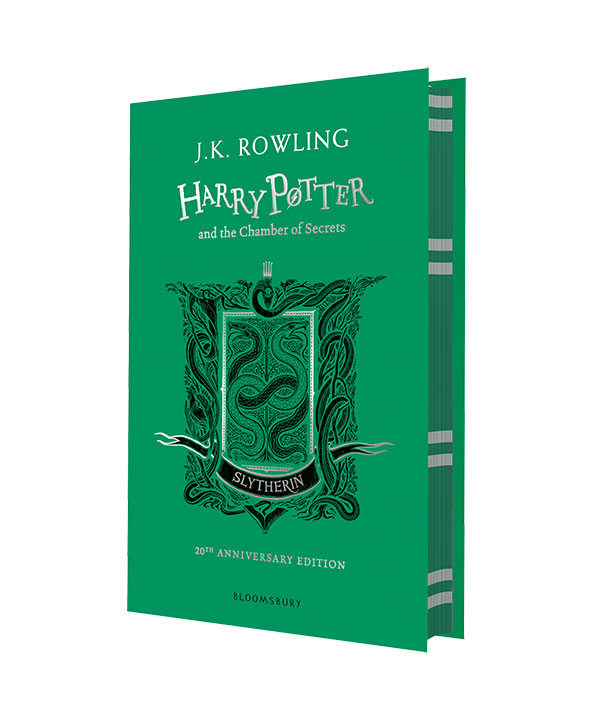 Harry Potter and the Chamber of Secrets – Slytherin Edition harry potter and the chamber of secrets – slytherin edition