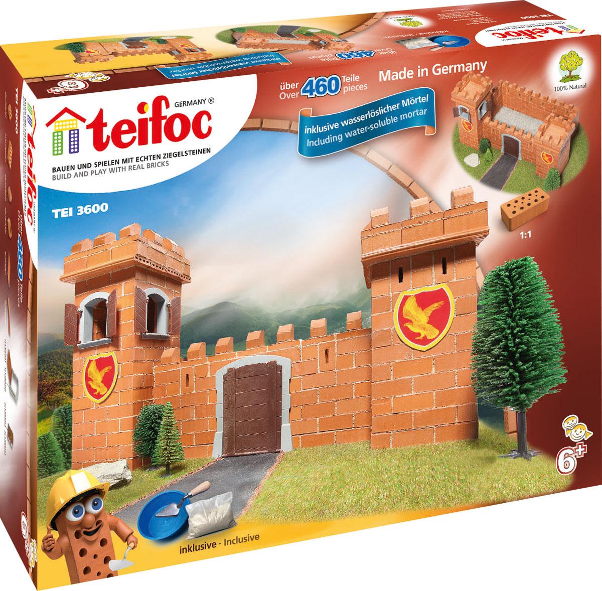 купить Teifoc Строительный набор Рыцарский замок по цене 4460 рублей