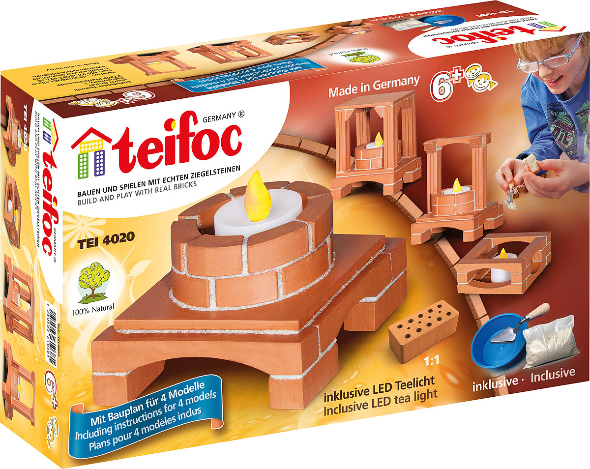 купить Teifoc Строительный набор Подсвечник по цене 945 рублей