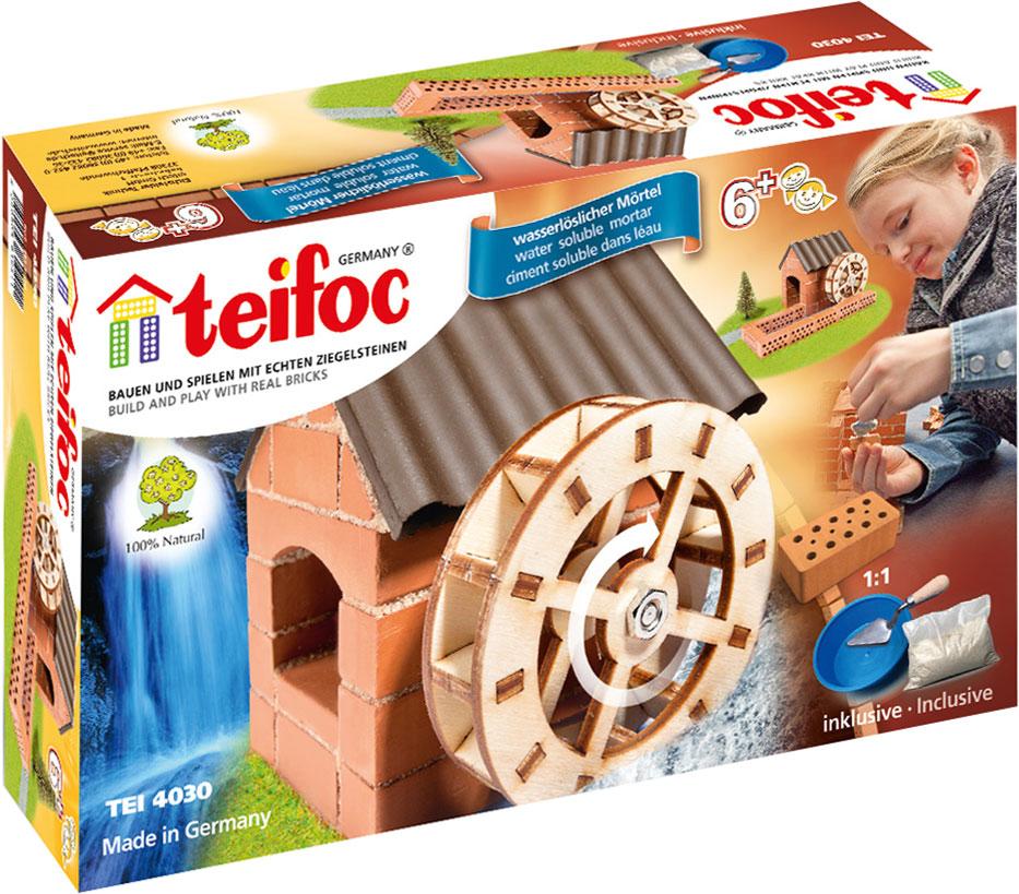 все цены на Teifoc Строительный набор Водяная мельница онлайн