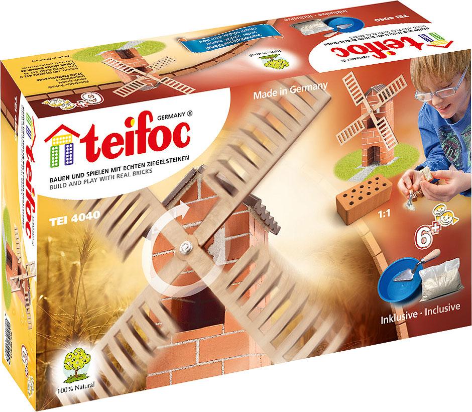 все цены на Teifoc Строительный набор Ветряная мельница TEI 4040 онлайн