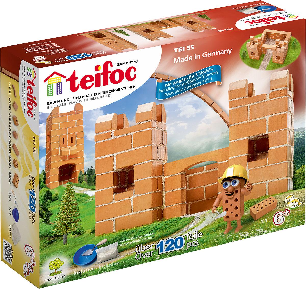 купить Teifoc Строительный набор Крепость по цене 1390 рублей