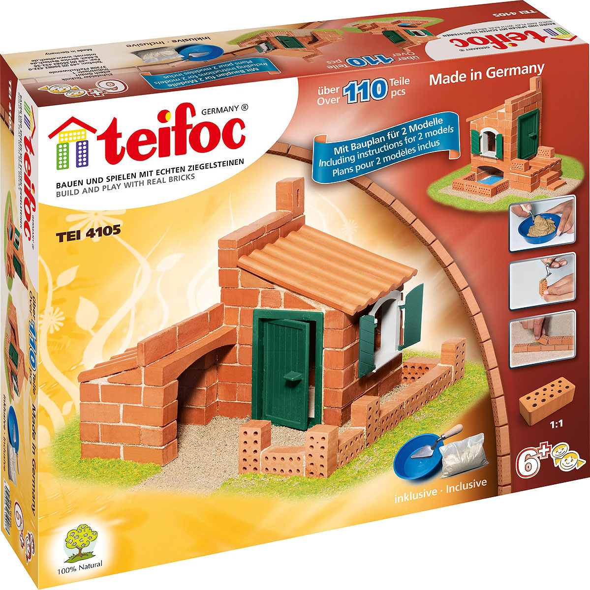 все цены на Teifoc Строительный набор Дом TEI 4105 онлайн