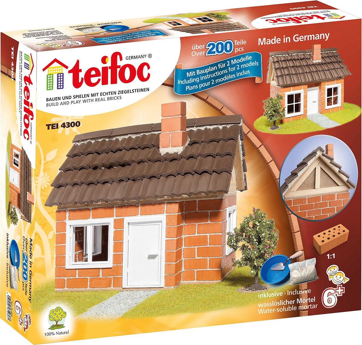 Teifoc Строительный набор Дом с каркасной крышей