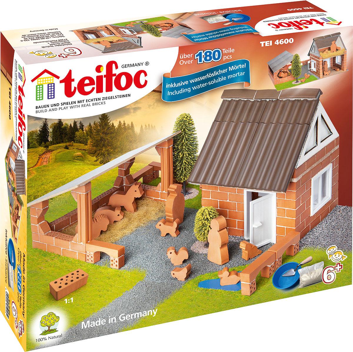 купить Teifoc Строительный набор Ферма по цене 3335 рублей