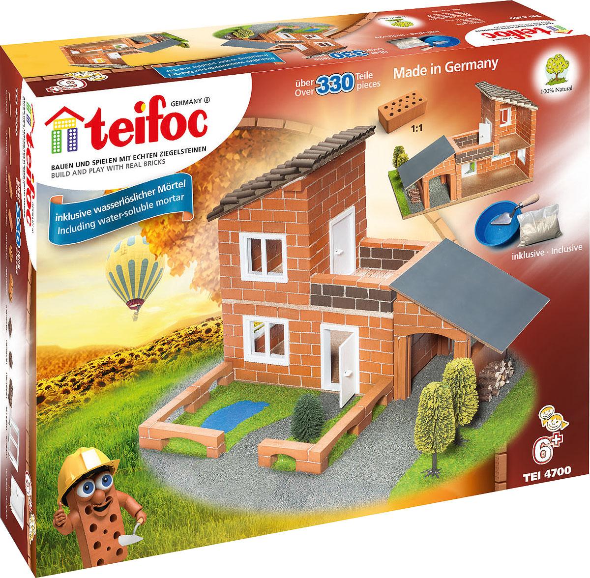 купить Teifoc Строительный набор Вилла с гаражом по цене 4180 рублей