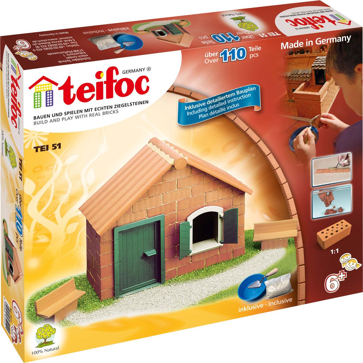 все цены на Teifoc Строительный набор Дом TEI 51 онлайн